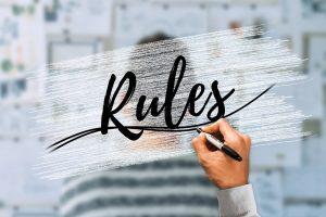 spannungsbogen, regeln aufstellen