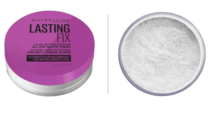 Maybelline New York Fixier-Puder, business make up look