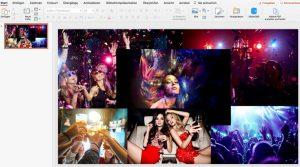 Energydrink für junges Party-Volk, Farbpsychologie in Präsentationen