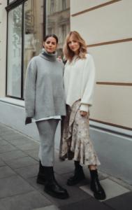 Julia Zwingenberg und Carmen Kroll Carmushka