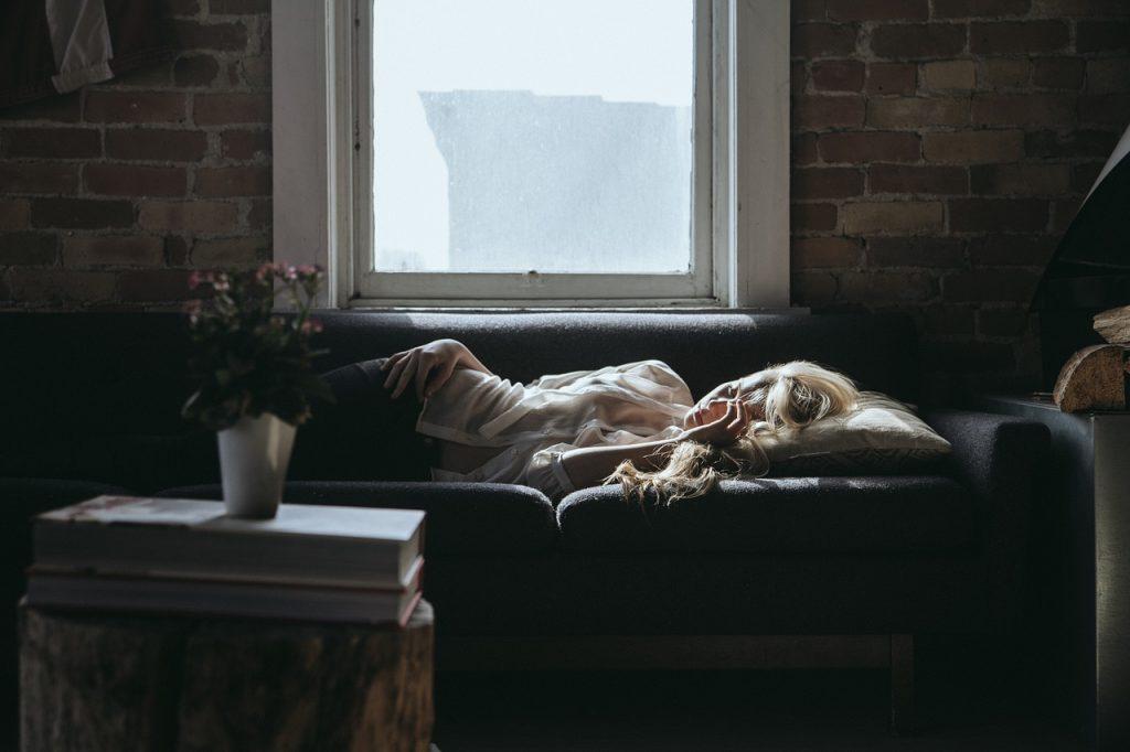 schlafen in der gemeinsamen wohnung