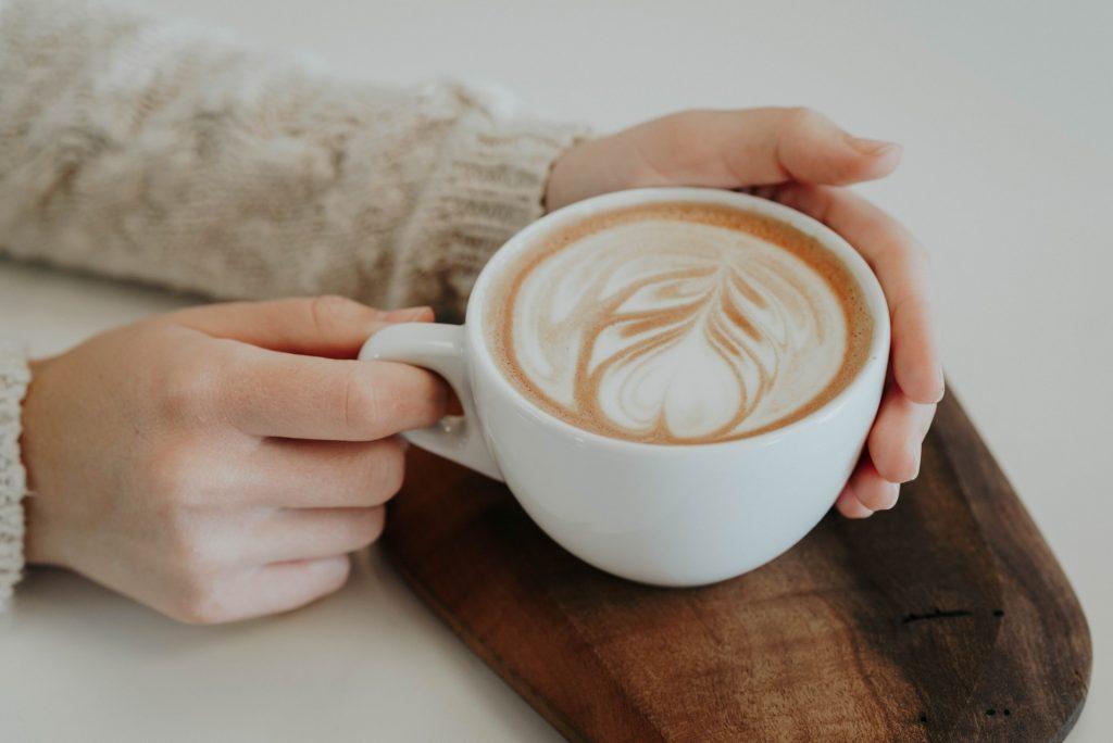Kaffeezeit mit Familie