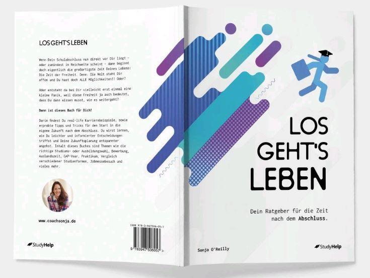 """Sonja O'Reilly Ratgeber """"Los gehts Leben"""""""